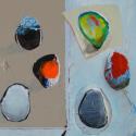 abstract 49.5 x 50.2 cm acryl/paneel