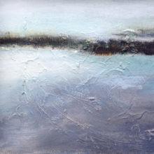 landschap 40 x 30 cm acryl/paneel