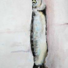 Vis aquarel