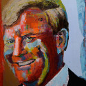 Willem Alexander 70 x 60 cm
